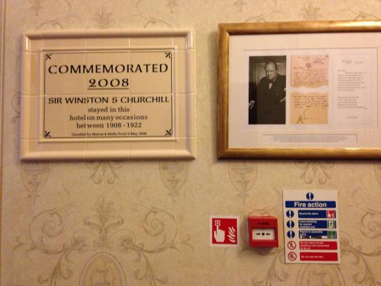 Best Western Queens Hotel : Love the history