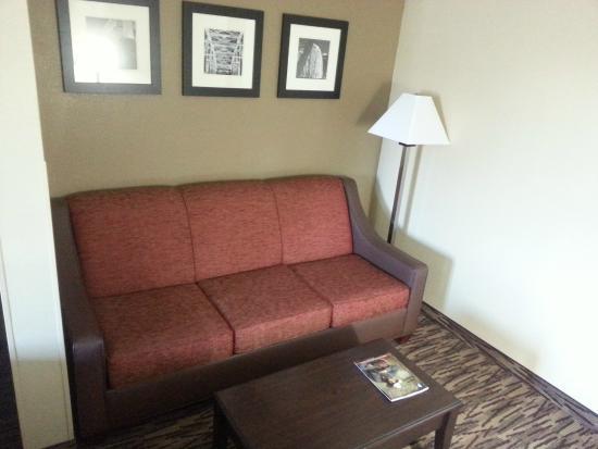 Comfort Suites Lebanon: Oversized Sitting Area