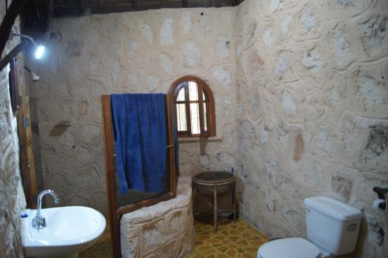 Organic Yoga Mexico: salle de bain