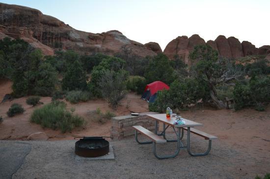 Devil's Garden Campground: Campsite #36