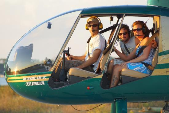 Orange Beach Helicopter Tours Flights Are Always Special