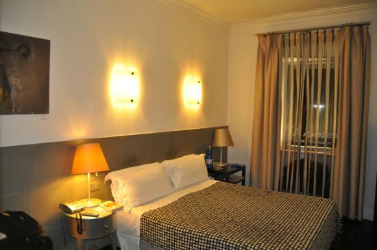 Residenza A: Apartamento visto da porta.