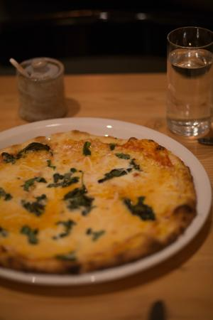The Fig Cafe: margarita pizza
