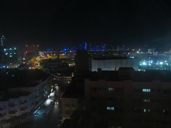 Royal Qatar Hotel: View from my room on the 7th floor