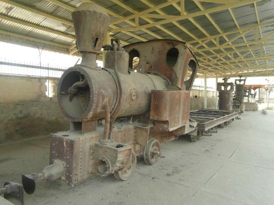 Kabul, Afghanistan: Narrow Gauge Steam Engine