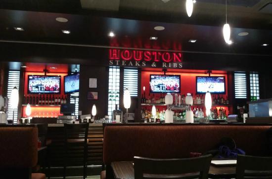 Restaurant Interior Houston Edmonton International Airport Alberta Canada