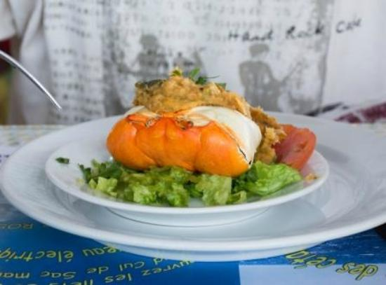 Restaurant Le Mouillage : Delicious Crabe farci