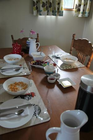 Gumtree Farmstay : breakfast