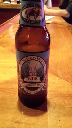 Three Bear Restaurant: Beer