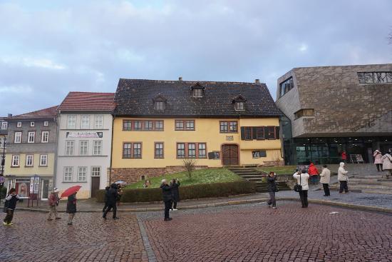 Bachhaus: 建物正面です。