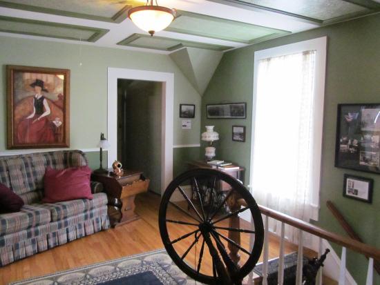O Bois Dormant : petit salon à l'étage