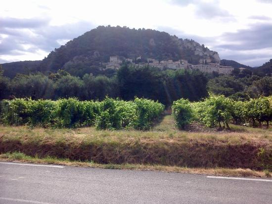 La Bastide Bleue : View of Seguret from Roadway