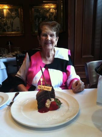 Shula's Steak House: Jennie's 95th Birthday