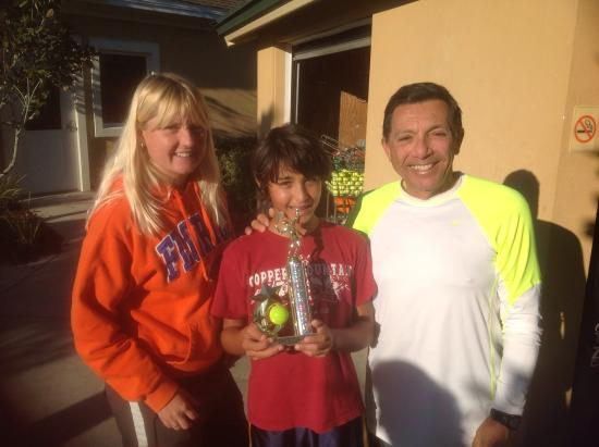 St Augustine Tennis at Treaty Park: USTA Boys 14 Champion