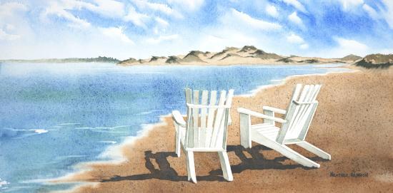 Heather Hannon Island Art Studio: A Beach Day