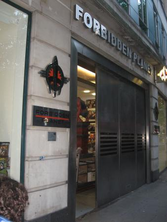 Shaftesbury Avenue: Forbidden Planet Megastore