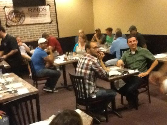 Rino's Pizza: One of Rinos Famous Beer School 101!