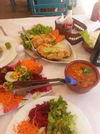 Quiosque Restaurante Azul Marinho