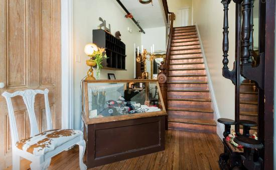 Stewart House: Copper Stair Case