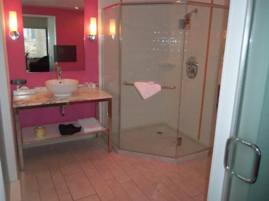 Flamingo Las Vegas Go Room Bathroom