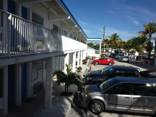 Key Colony Beach Motel : View outside our room