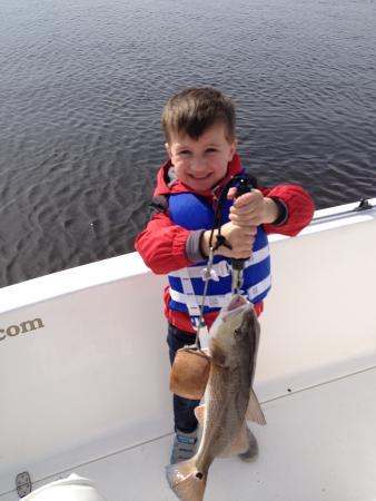 Angler's Mark Fishing Charter : Redfish!