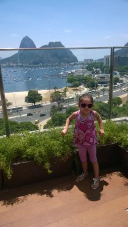 Ibis Rio de Janeiro Botafogo : Vista para praia de Botafogo