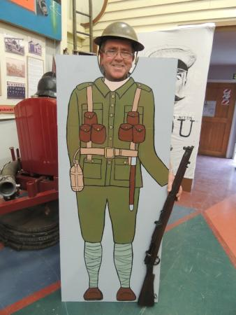 """Central Hawke's Bay Settlers Museum: WWI display :They Answered the Call"""""""
