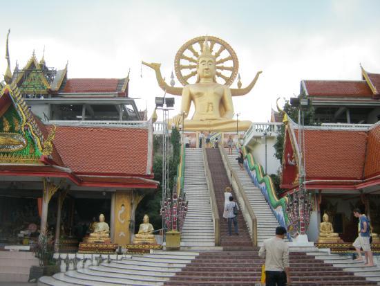 Bophut, Tailandia: บริเวณด้านหน้า