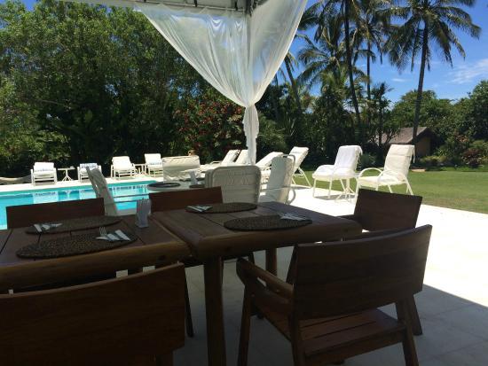 Villas de Trancoso Hotel: Restaurante