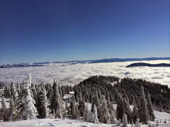 RED Mountain Resort : From the top of Granite Mountain - Red Mountain BC Canada