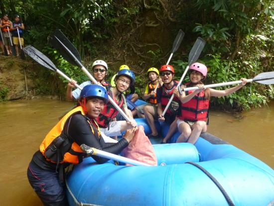 Bigtree Travel & Tours Malaysia Sdn Bhd: KKB White Water Rafting Adventure Tours - www.malaysia-adventuretours.com