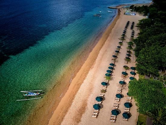 Prama Sanur Beach Bali: Private Beach
