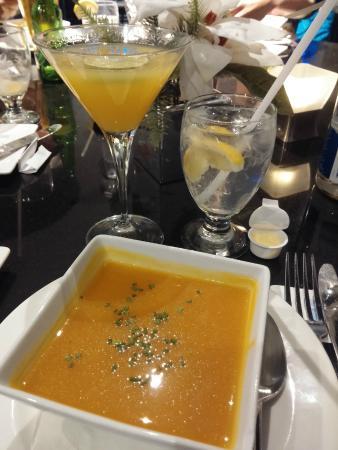 Trio Restaurant And Bar At Novotel Toronto North York Hotel Pumpkin Soup