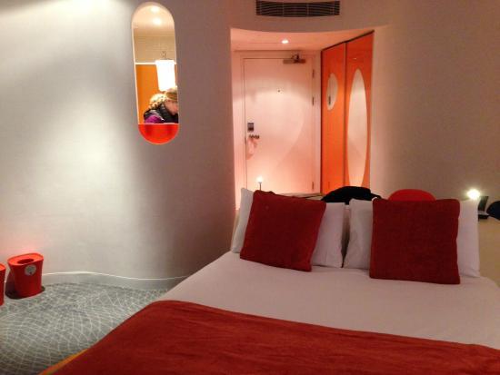 My Brighton Our Neon Orange Room