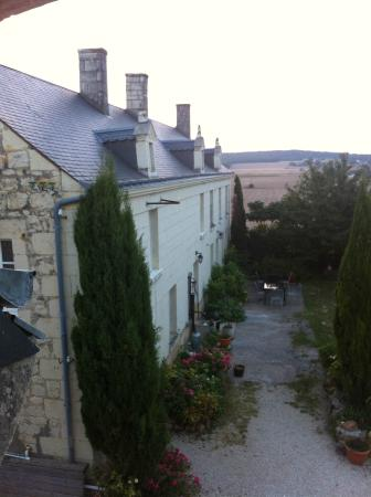 Les Roches a Renards: Early morning from our bedroom window
