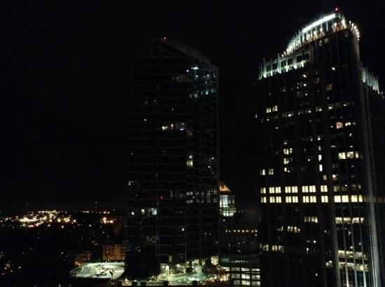 Charlotte Marriott City Center : view from 18th floor
