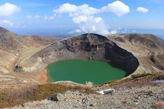 Okama Crater of Zao Mountain -...