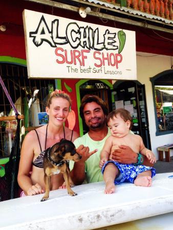 Al Chile Surf Shop and School: The gurus of Al Chile Surf Shop