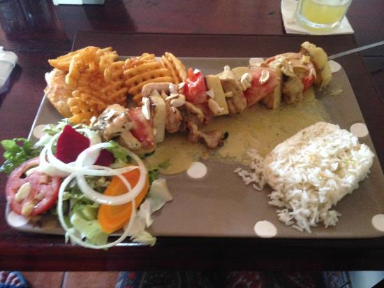 Bar Restaurante YaVoy: Hawaiian chicken