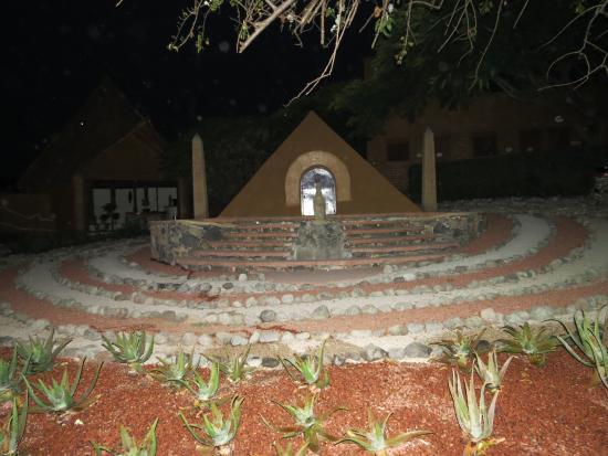 Hostal de la Luz - Spa Holistic Resort: Piramide