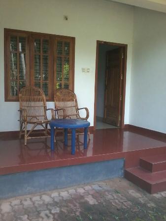 La Maison de Varkala: balcony