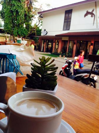 Casa Coron Hotel: coffee time
