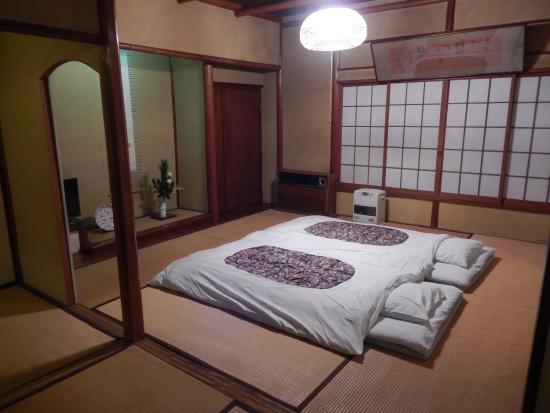 Fukuzumiro Ryokan: Futon Beds