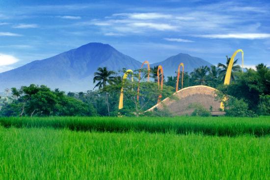 John Hardy Ubud Workshop and Showroom: Kapal Bambu and the volcanos