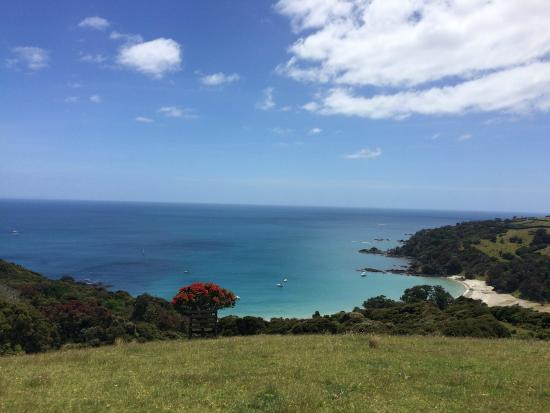 Isla Waiheke, Nueva Zelanda: Walking toward Stony Batter