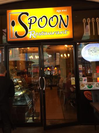 Spoon Cafe : Devanture