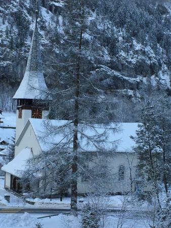 Chalet-Hotel Rosa: View from our window
