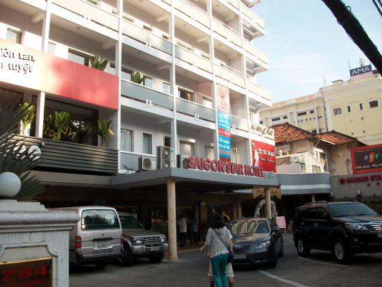 Saigon Star Hotel: グエンティミンカイ通りに面したホテル