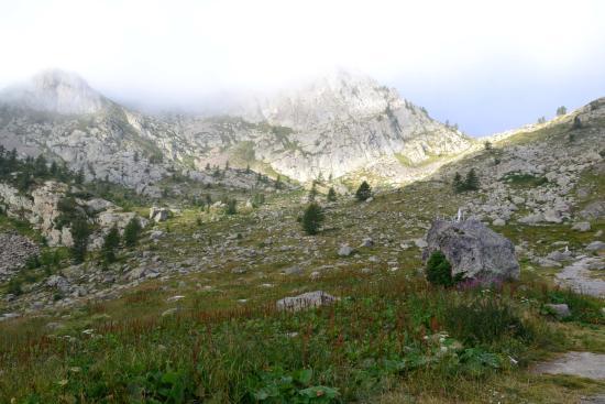 Santuario di Sant'Anna di Vinadio: La Roccia dell'Apparizione